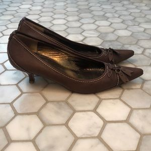 J. Crew Shoes - J. Crew Women's size 7 Brown leather tassel pump